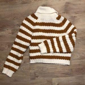 Striped Oversized Knit Sweater